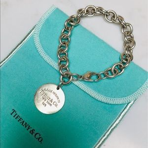 Tiffany and Co Return To Sender Link Bracelet